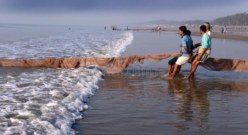 Dailylife des pêcheurs photos stock