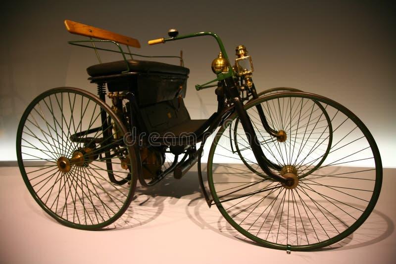 daimler motorowy quadricycle stahlradwagen fotografia royalty free