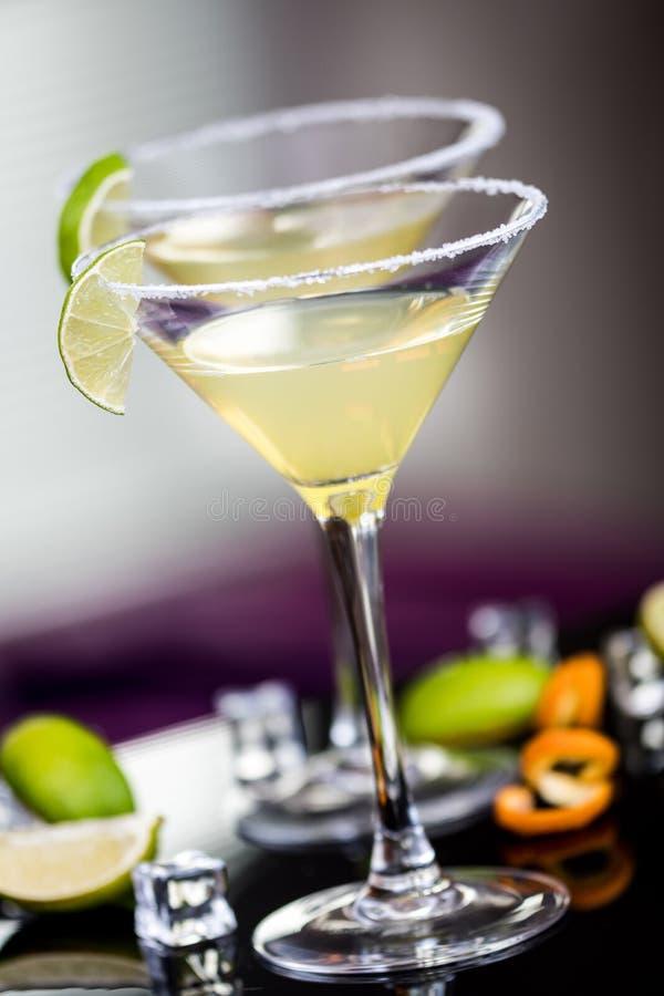 Daiquirí del cóctel del alcohol imágenes de archivo libres de regalías