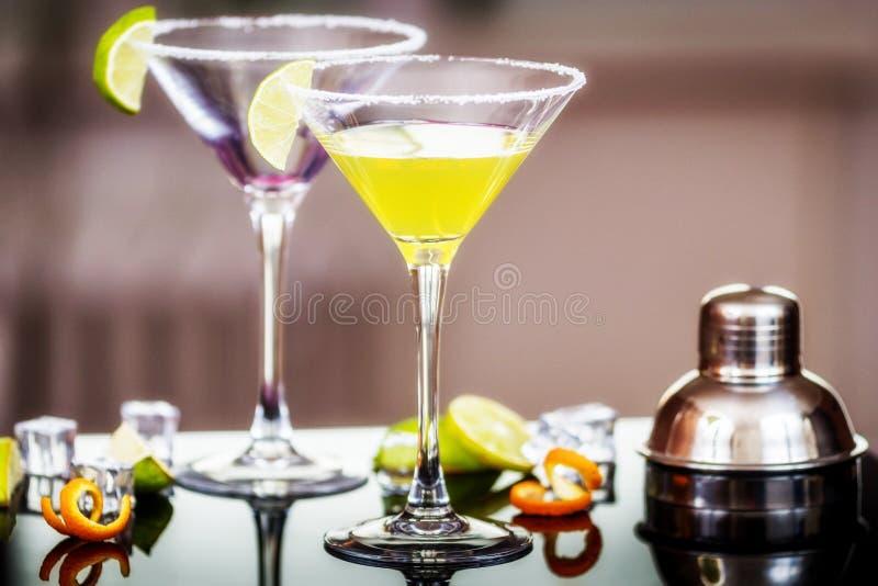 Daiquirí del cóctel del alcohol fotografía de archivo libre de regalías