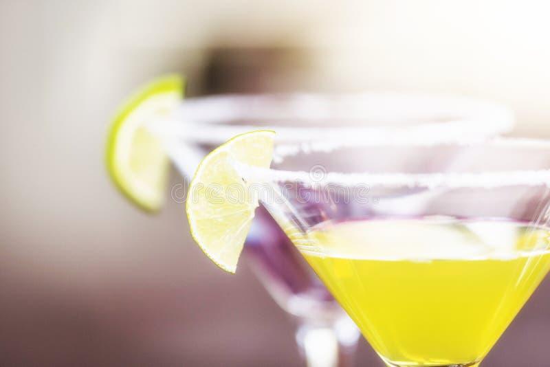 Daiquirí del cóctel del alcohol fotografía de archivo