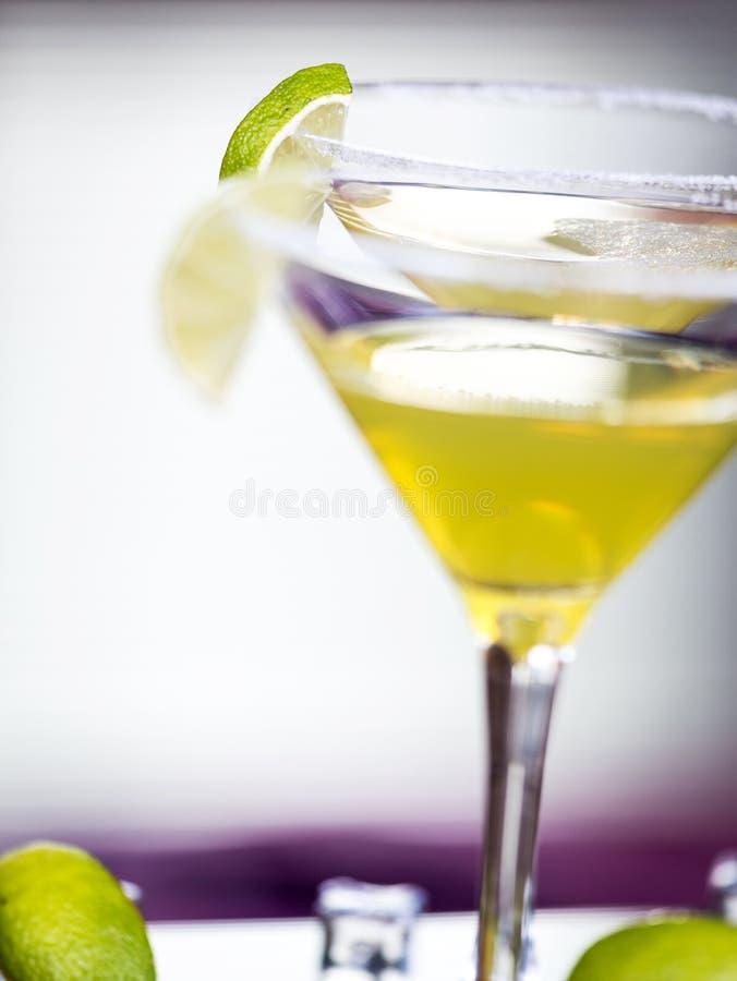 Daiquirí del cóctel del alcohol imagen de archivo libre de regalías