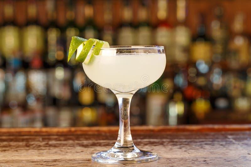 Daiquiri cubano do cocktail foto de stock