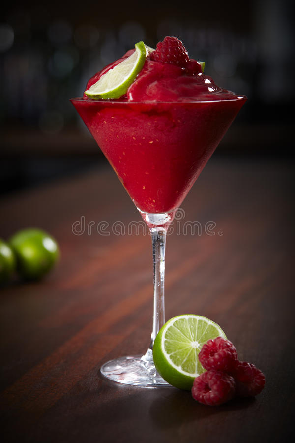Daiquiri da framboesa foto de stock royalty free