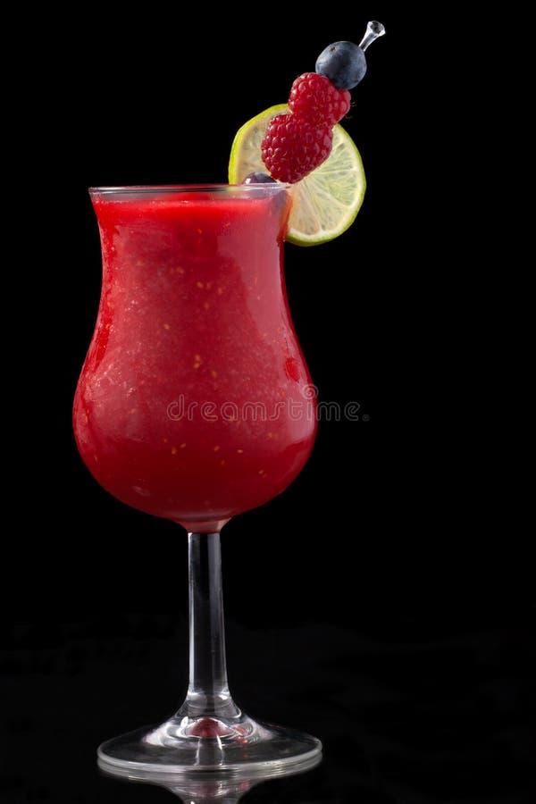 Daiquiri da framboesa - a maioria de série popular dos cocktail fotografia de stock