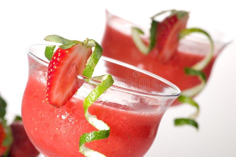 Daiquiri de fraise - la plupart de serie populaire de cocktails images stock