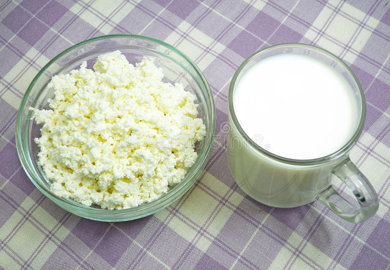 Dairy breakfast stock photos