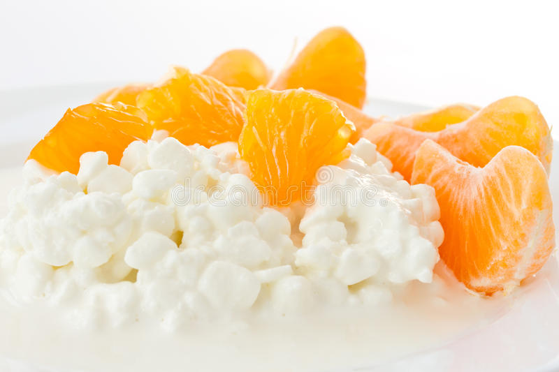 Dairy cottage cheese stock photography