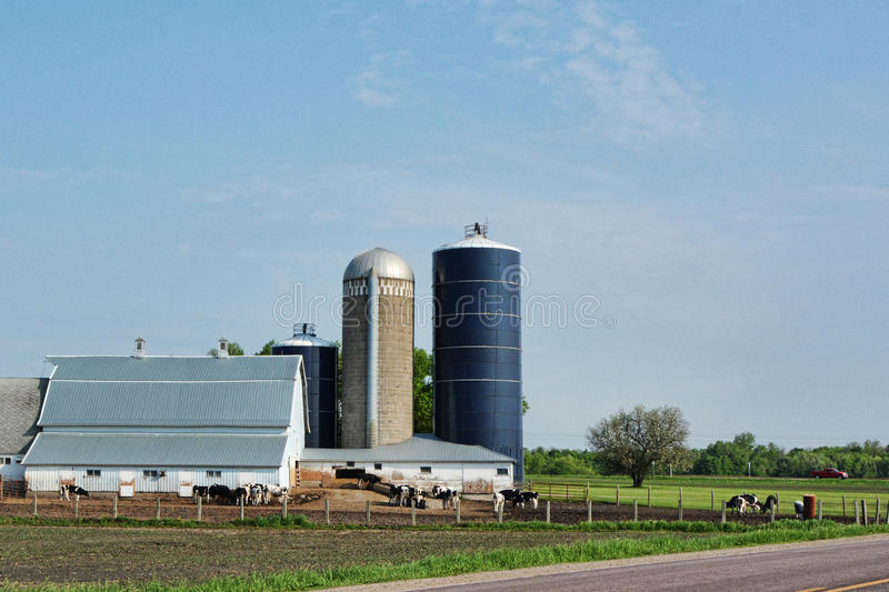 Dairy Farm 2 stock images