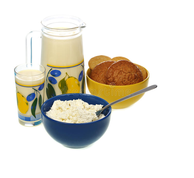 Download Dairy food stock photo. Image of bowl, lifestyle, cottage - 17338872