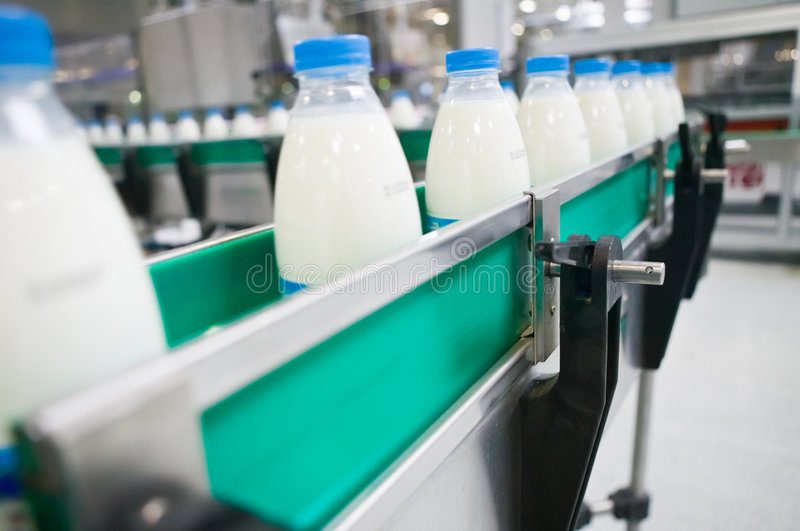 Download Dairy Plant. stock photo. Image of object, metallic, produce - 8817632