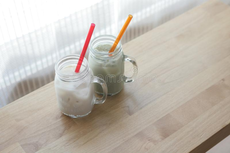 Dairy Product, Drink, Mason Jar, Smoothie stock photos