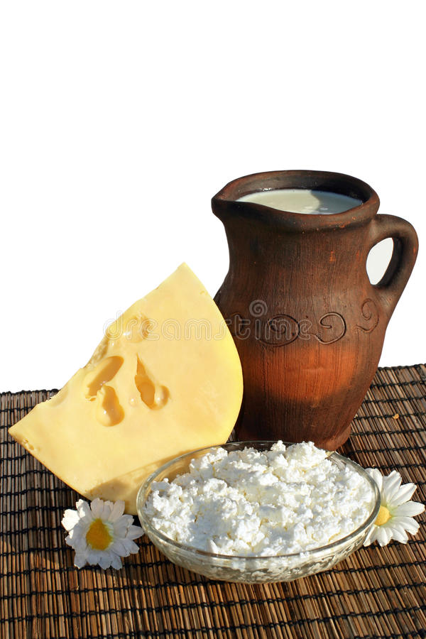 Download Dairy products stock image. Image of isolated, milk, closeup - 16373461