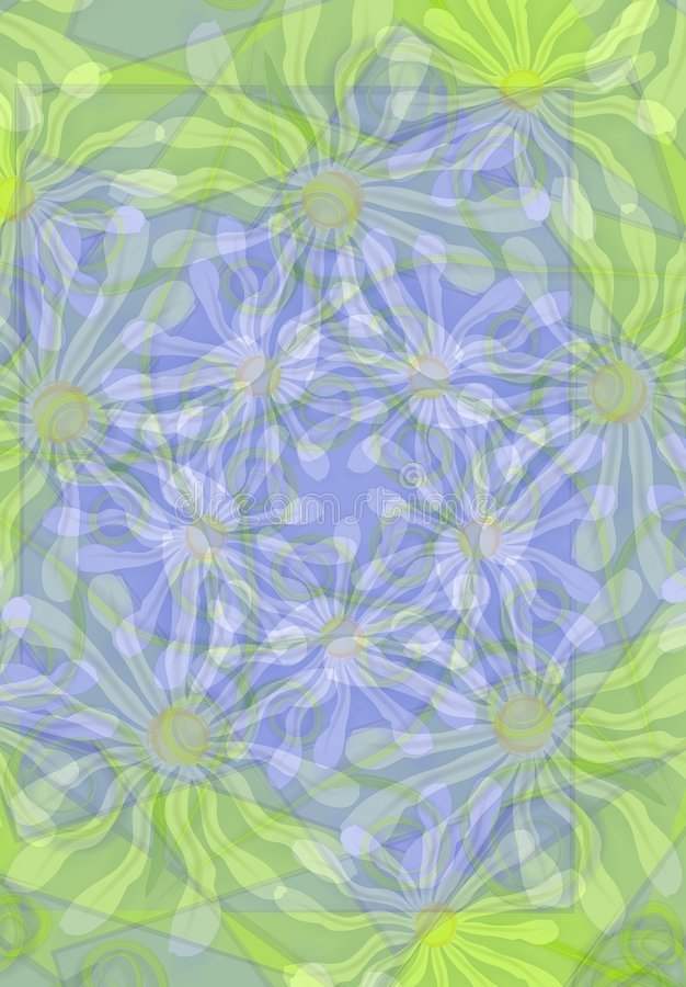 Daisies Background Pattern vector illustration