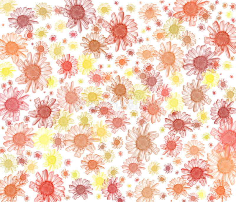Daisy background series. royalty free illustration