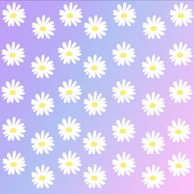 Daisy background. Vector of Daisy background usable for everything you want , including other design projects or just daily use royalty free illustration