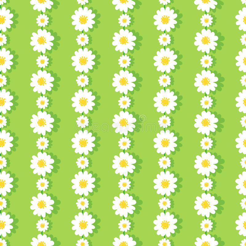 Daisy Chain Pattern illustration libre de droits