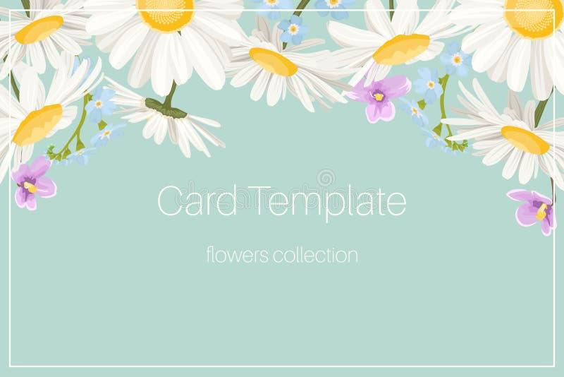 Forget Me Not Wedding Invitations: Wedding Invite Forget-me-not Myosotis Floral Frame Stock