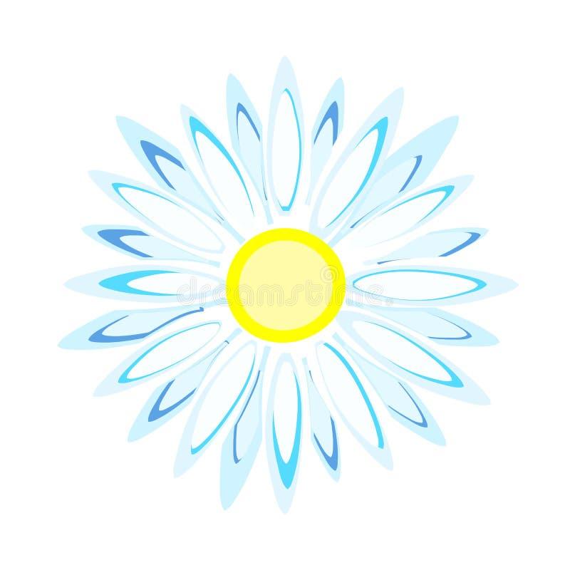 Daisy Flower illustration de vecteur