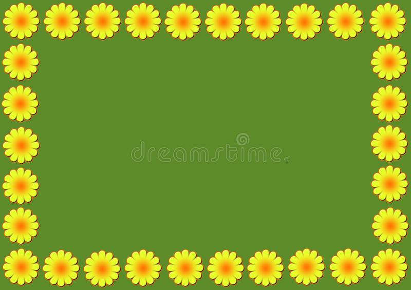 Download Daisy flowers illustration stock illustration. Illustration of pattern - 17612241