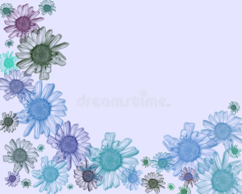 Daisy Frame background. royalty free stock photos