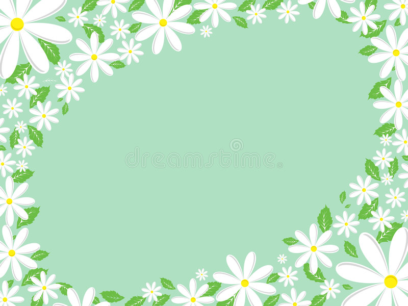 daisy granic ilustracja wektor