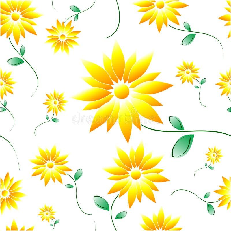 daisy płytka ilustracja wektor