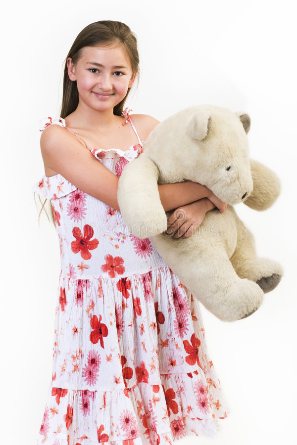 Free Daisy Teddy Bear 1 Royalty Free Stock Photo - 563125
