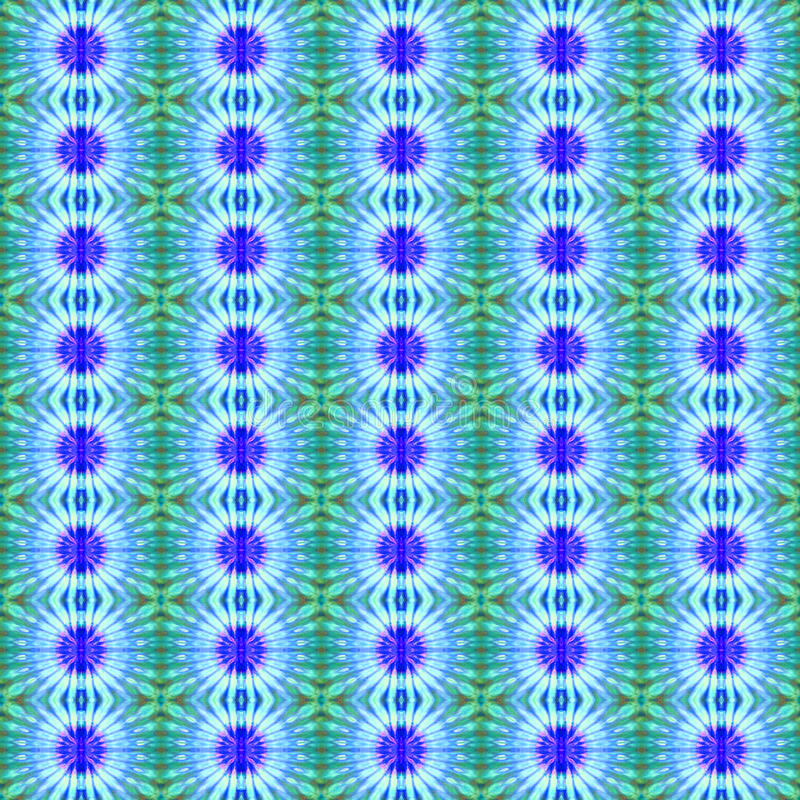 Background Seamless Tie Dye Pattern. Created using a pattern originated from tie dye royalty free stock image