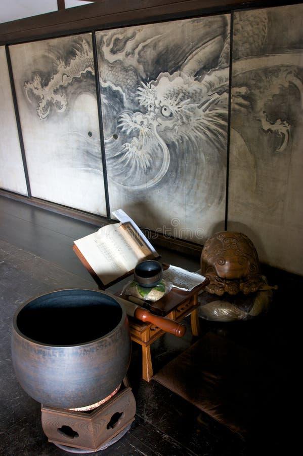 daitokuji服务台京都作家 免版税库存照片