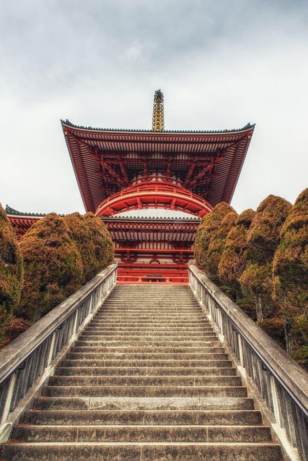 Daitou, Shinsho -shinsho-ji tempel Narita stock foto