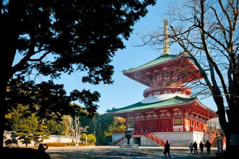 Daitouzaal van Narita San Shinsho ji tempel, Narita, Chiba, Japa royalty-vrije stock afbeeldingen