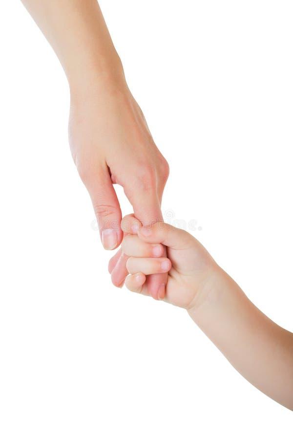 daje ręce dziecko ojciec obrazy stock