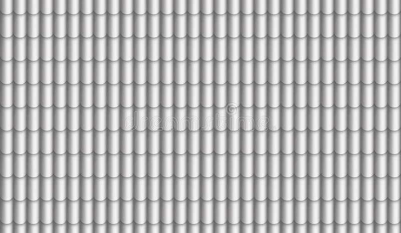 Dak digitaal geschilderd dakspanentextuur stock illustratie