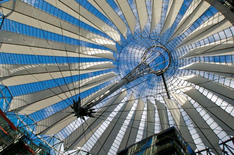 Dak in Potsdamer Platz royalty-vrije stock fotografie