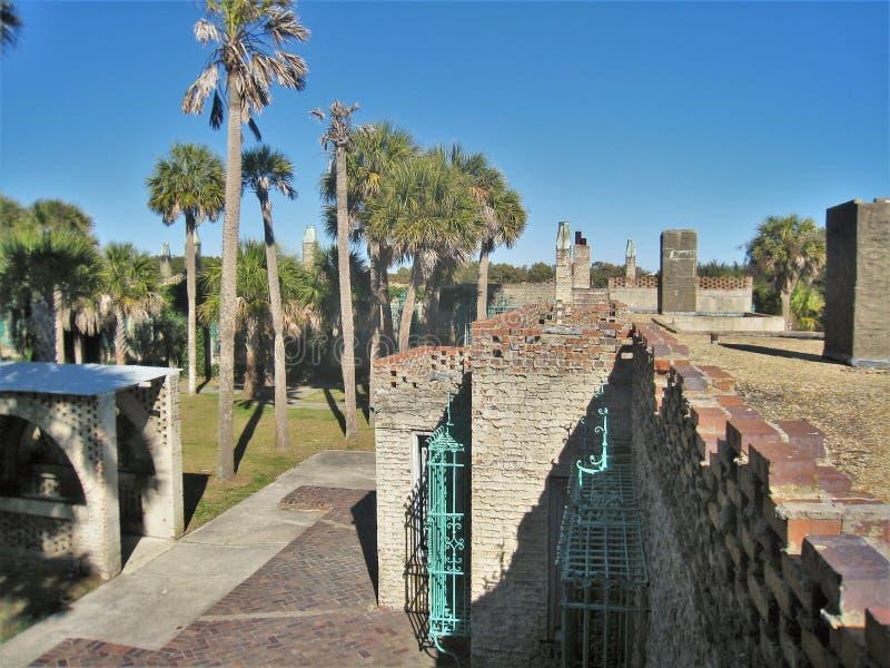 Dak van Atalaya in Huntington-het Park van de Staat stock afbeeldingen