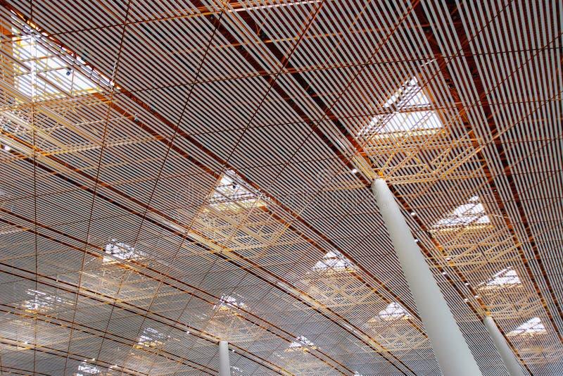 Dak van de wachtkamer van de Luchthaven royalty-vrije stock afbeeldingen