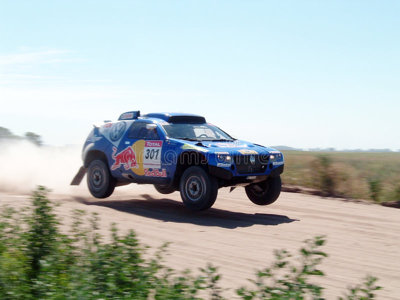 Dakar Argentina Cile 004 fotografia stock