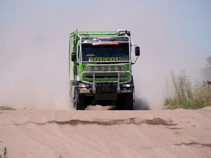 Dakar Argentinien 2009 Chile 014 lizenzfreie stockbilder