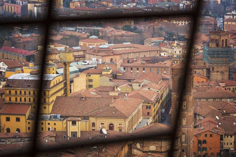 Daken in Bologna Italië royalty-vrije stock fotografie