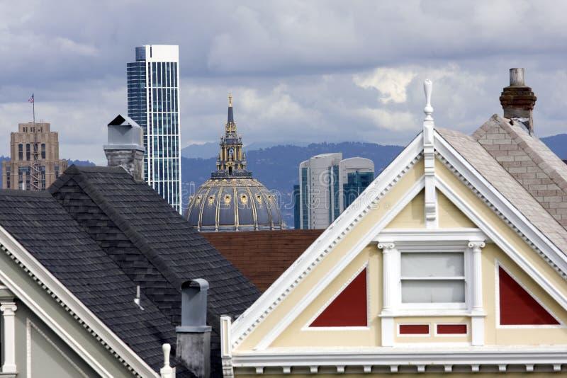 Daken van San Francisco stock foto