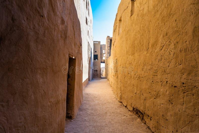 Dakhla öken, Egypten royaltyfri fotografi