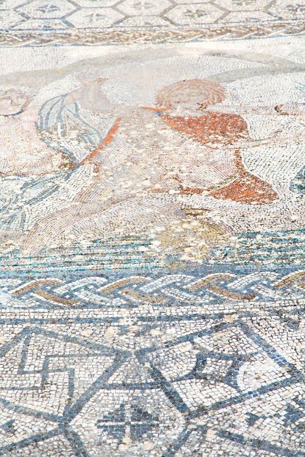 dakmozaïek in de stad Marokko Afrika en geschiedenisreis stock afbeeldingen