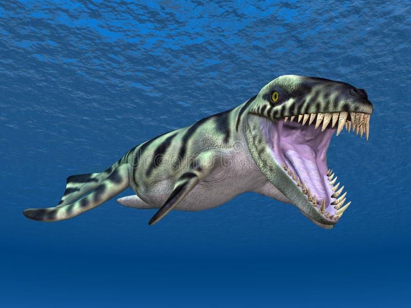 dakosaurus stock illustration illustration of reptile