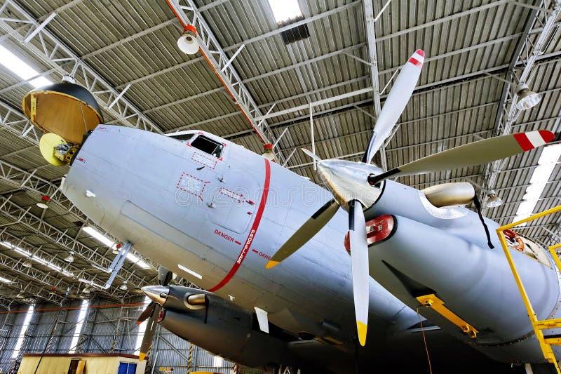 Dakota hangar obraz royalty free