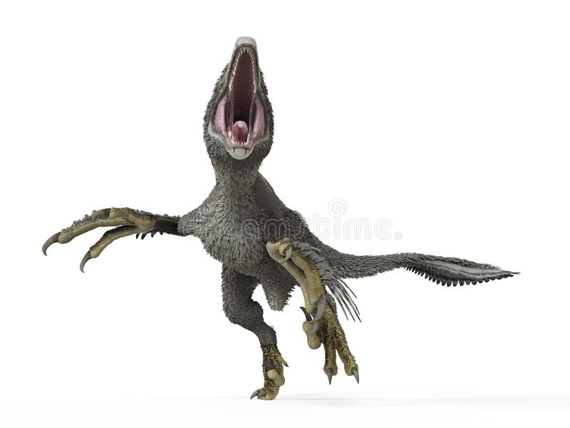 A dakotaraptor vector illustration