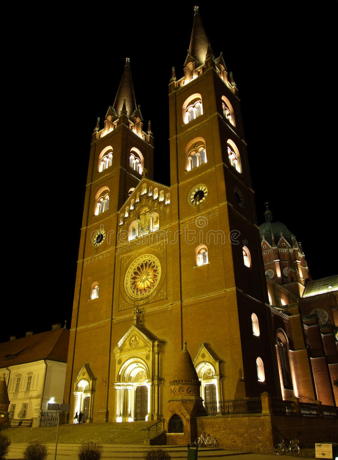 dakovo katedrala 库存照片