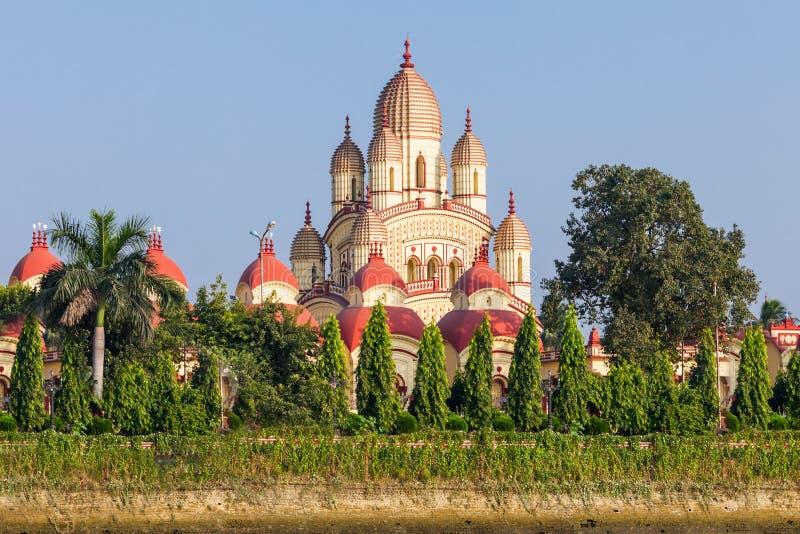 Dakshineswar卡利市寺庙 免版税库存照片