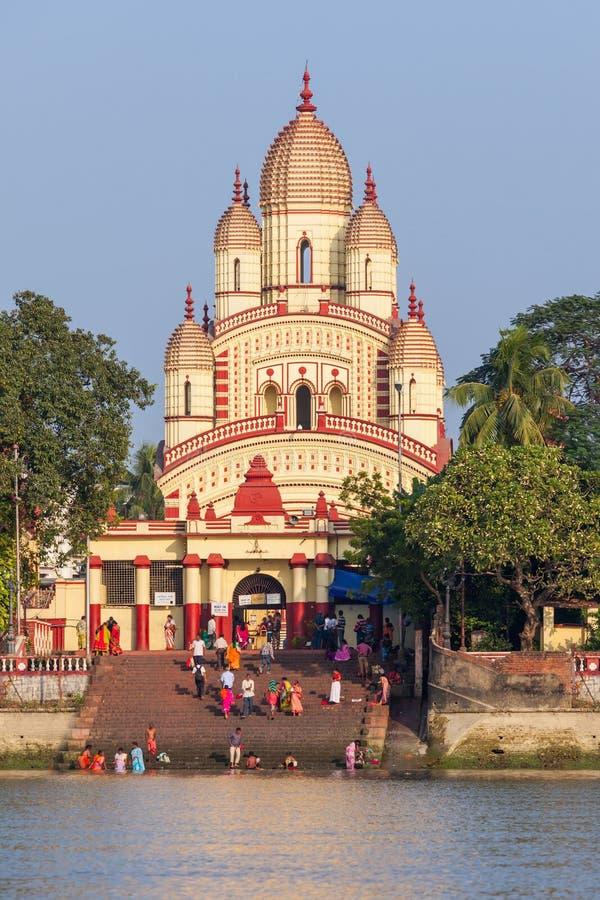 Dakshineswar卡利市寺庙 库存照片