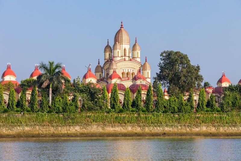 Dakshineswar卡利市寺庙 图库摄影